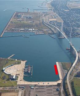 Port of Shinminato Aerial Photo
