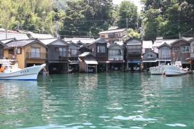 伊根浦舟屋群(重要伝統的建造物群保存地区)写真