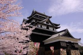 松江城写真