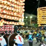 """Fushiki Hikiyama Festival """"Kenkayama-Fighting Floats"""" Photo"""