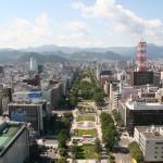 Areas around Odori Park Photo