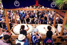 松江祭鼕(どう)行列写真