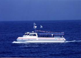 美国港(水中展望船乗船)写真