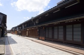 Kanayamachi(Houses with latticework design) Photo