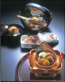 Kyo-kaiseki (Kyoto Haute Cuisine) Lunch Time Photo