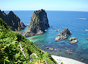 Visit to spots to see the superb view of the Shakotan Peninsula Photo