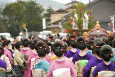 まるまげ祭り写真