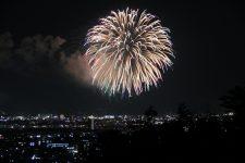 北日本新聞納涼花火大会写真