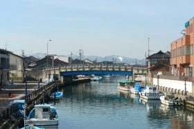 新湊内川写真