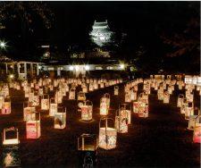 松江水燈(すいとう)路写真
