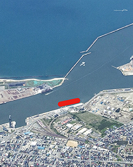 Port of Akita Aerial Photo