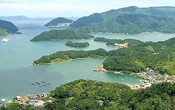 京都舞鶴港航空写真