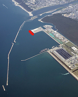 Port of Noshiro Aerial Photo