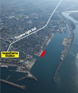 Port of Toyama Aerial Photo