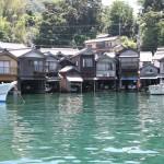 Funaya Boat houses of Ine Photo