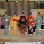 Kimono Show at Nishijin Textile Center Photo