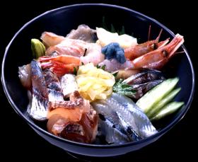 海鮮丼写真