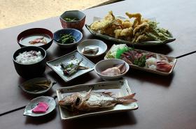 丹後の味覚(昼食)写真