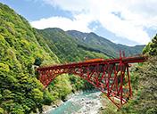 秘境「黒部峡谷」をトロッコ電車で走る!サムネイルイメージ