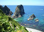 積丹半島の絶景スポット観光写真