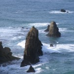 Byobu-iwa (Folding Screen Rock) Photo
