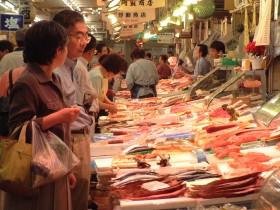 生鮮市場写真