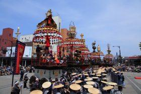 高岡御車山祭写真